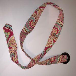 Reversible Vera Bradley belt
